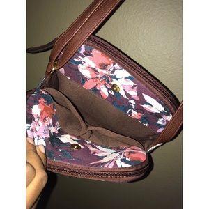 Jaclyn Smith Bags - Jaclyn Smith   Lady's Zip Floral Crossbody Bag
